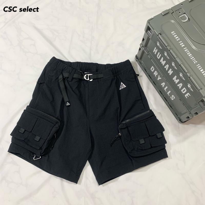 CSC▹ 現貨 Nike ACG NRG Outdoor 2021春夏 口袋 防水 工裝 短褲 黑 DH8348-010