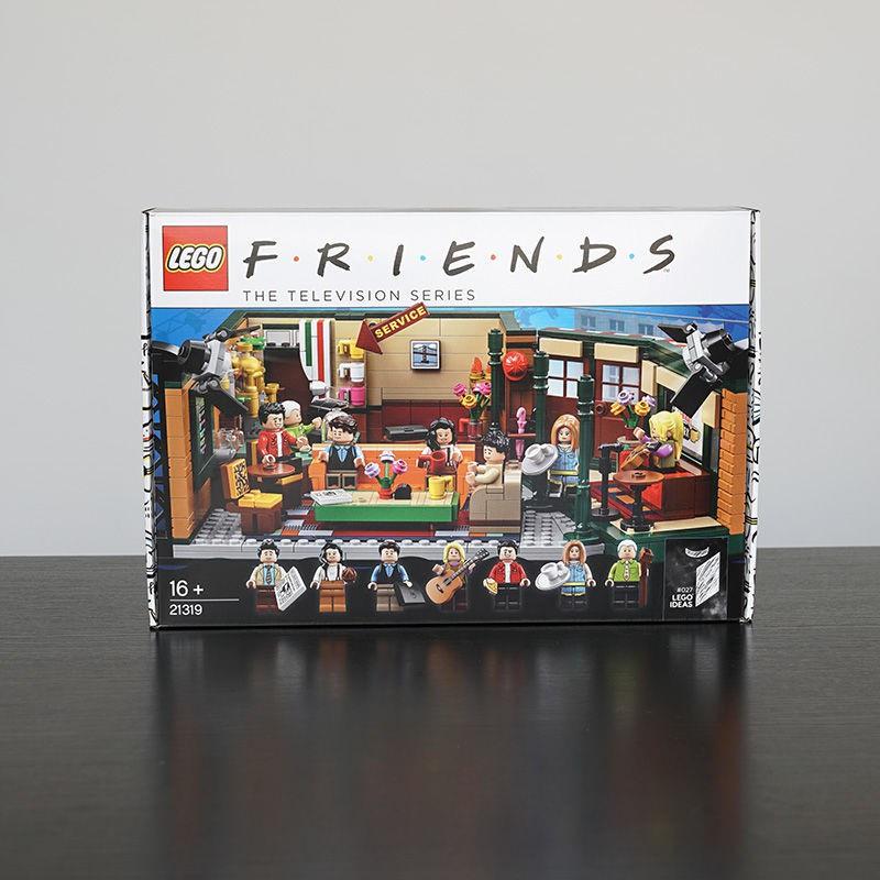 LEGO樂高 IDEAS系列 21319老友記咖啡館美劇男孩收藏拼裝積木玩