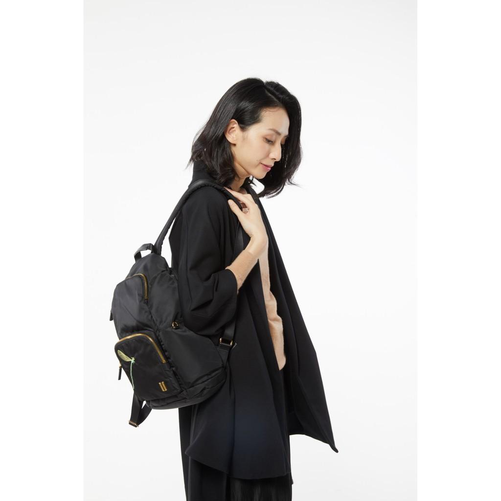 ☆SUMDEX☆人體工學設計 休閒後背包 網路最低價 樂遊遊 輕旅行 後背包 休閒 時尚 蜻蜓 764BK-DG 黑色