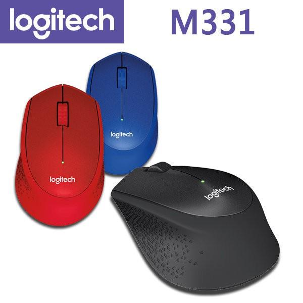 羅技 M331 無線滑鼠 (3色) SILENT PLUS 靜音滑鼠 Logitech〔每家比〕