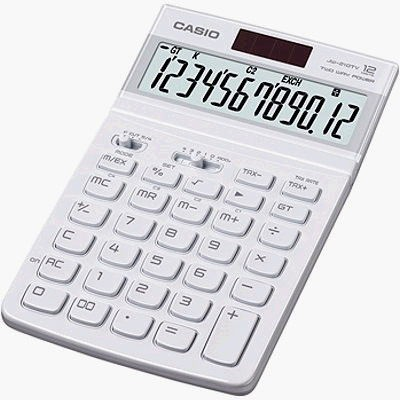 [牛博士CASIO專賣店] CASIO JW-200TW-WE鋼琴烤漆12位數計算機多種顏色特價600元團購有優惠