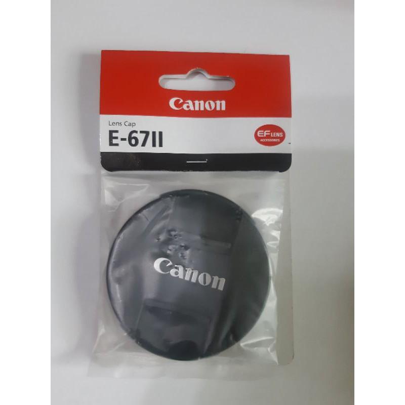 canon 原廠鏡頭蓋 E-67II 67mm 可用18-135mm RF 24-105mm 100mm 100-400