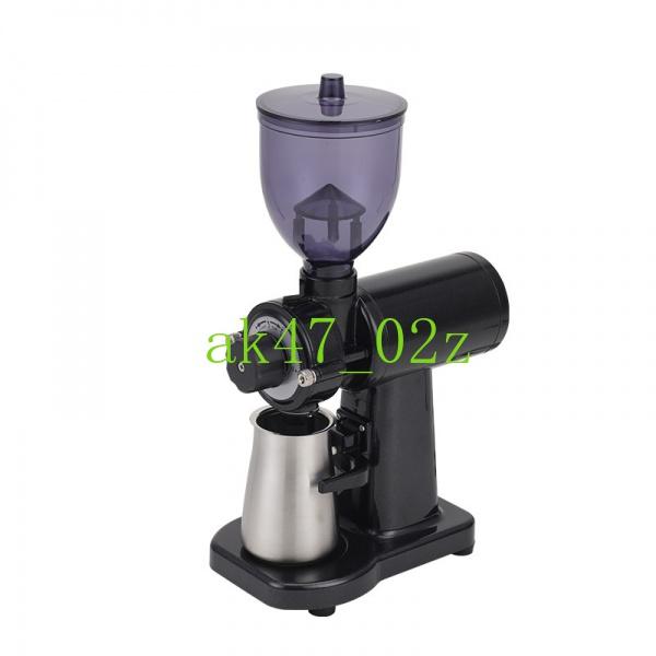 【現貨  免運】單品鬼齒磨豆機意式平刀磨粉器家用手沖咖啡研磨機電動有110V