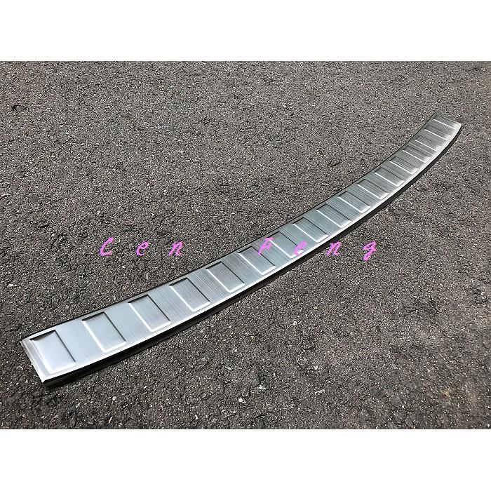 涔峰CF☆ (白金)福斯VW New Tiguan 不鏽鋼後護板 行李箱外護板 尾門外門檻 後保防刮飾板 後保桿防刮板
