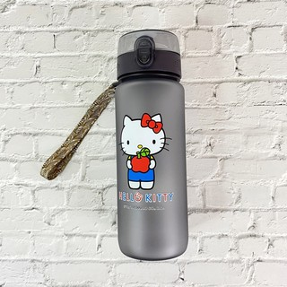 樂購坊-三麗鷗 Hello Kitty 翻蓋水壺 800ml 水壺 水瓶 正版授權