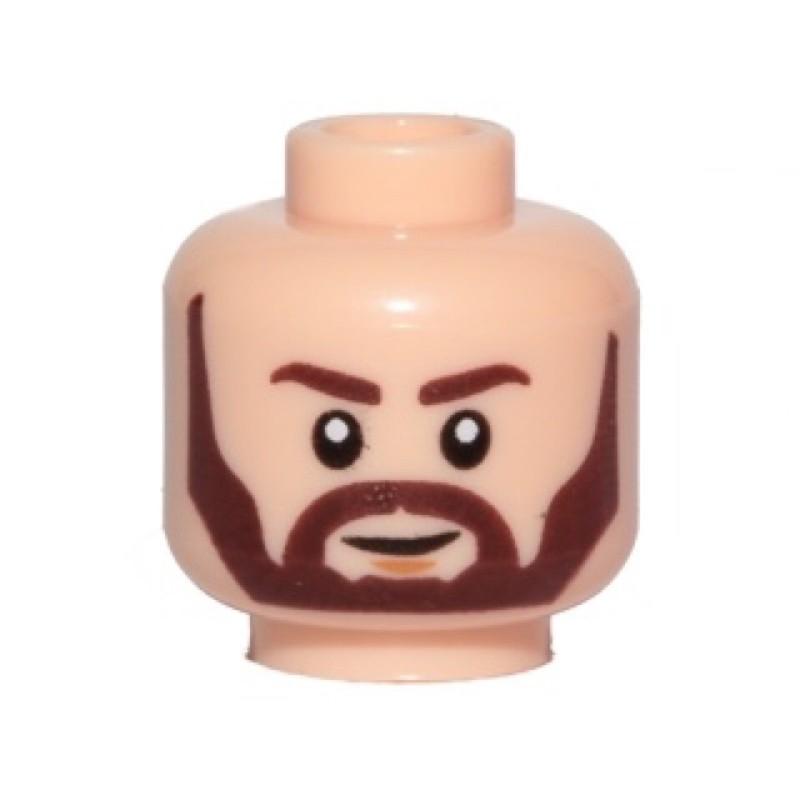 樂高 LEGO 頭 臉 Nodin Chavdri(3626cpb1969 75239 75189 75195)