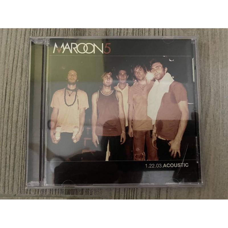 Maroon 5 1.22.03 Acoustic 美版CD
