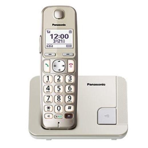 台灣哈里 國際 Panasonic DECT數位式無線電話 KX-TGE210 / 老人機大字鍵助聽
