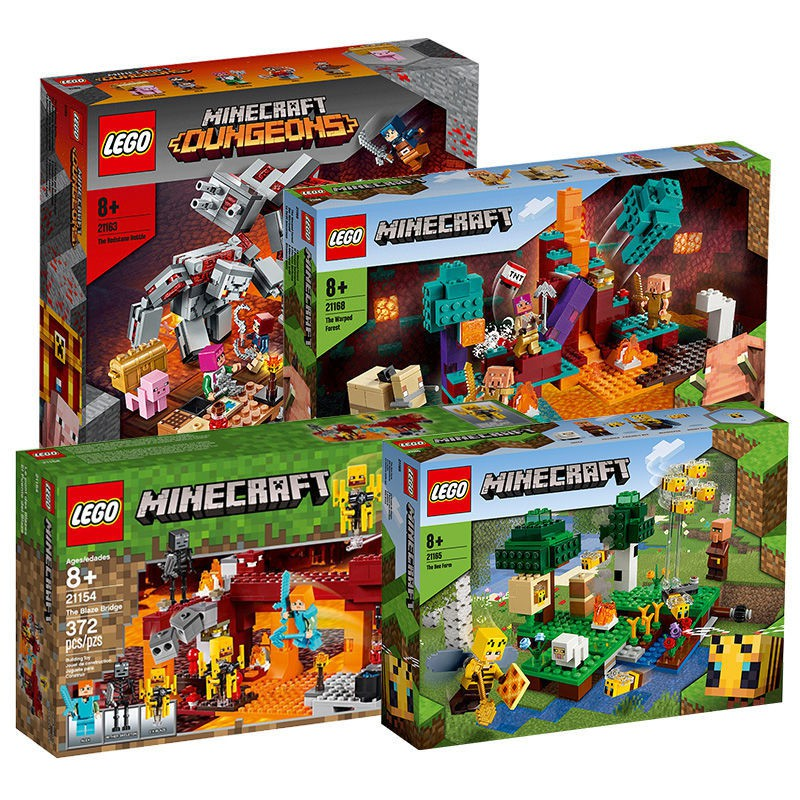『熱賣』【LEGO正品】樂高21154/21158/21163/21171/21172我的世界系列