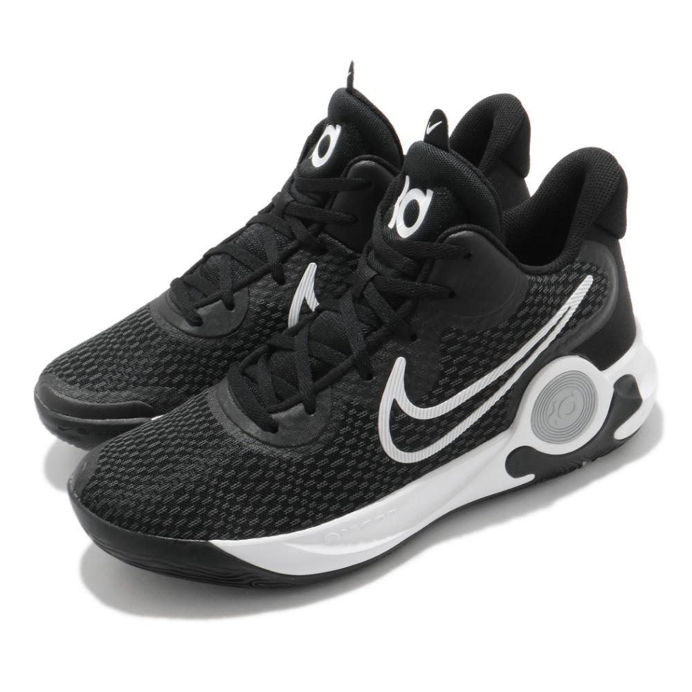[NIKE] KD 男款運動籃球鞋 新品 中高筒 黑色 cw3402002 <<曼哈頓運動休閒館>>