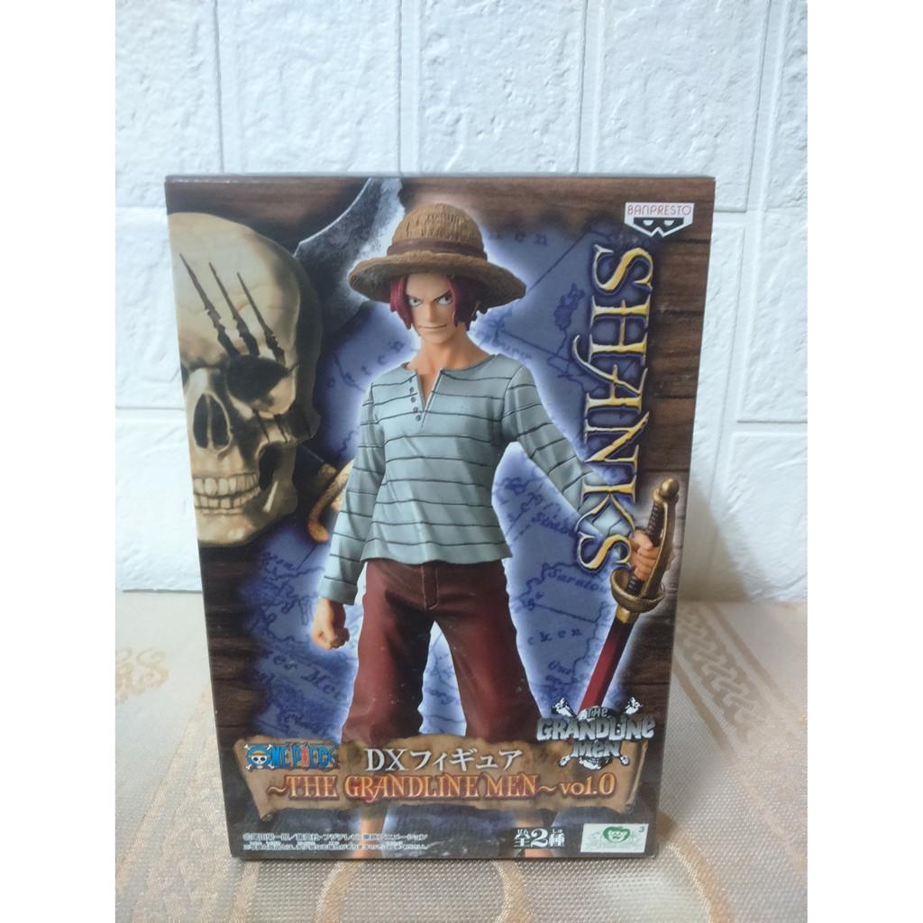 代理版 海賊王 DX THE GRANDLINE MEN Vol.0 年輕 紅髮傑克