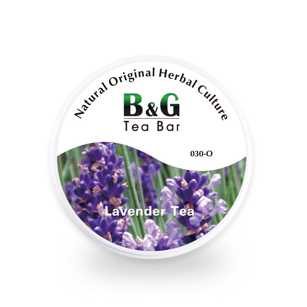 B&G 德國農莊 Tea Bar 德國純薰衣草花茶-圓鐵罐(15克)