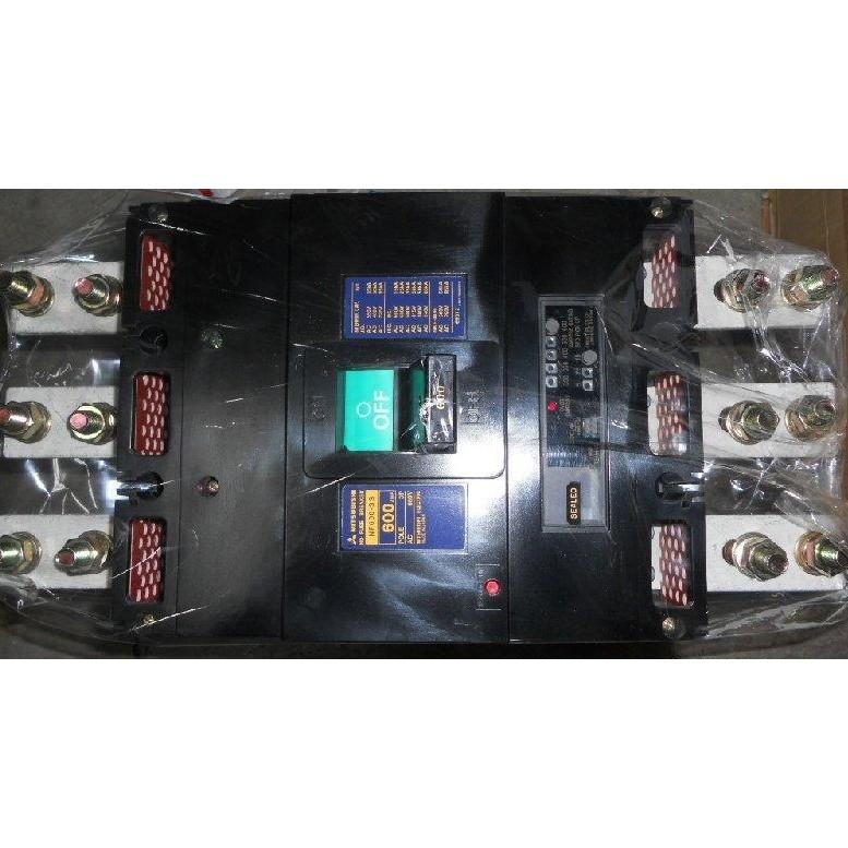 日本三菱MITSUBISHI NF600-SS 500A 600A  NF800-SS  700A 800A 無熔絲開關