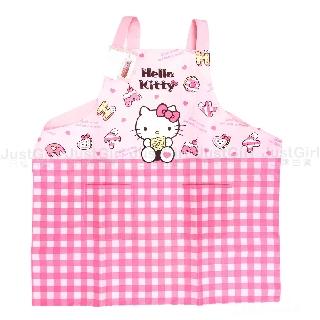 圍裙 三麗鷗 Sanrio Hello Kitty 長圍裙 正版授權 台北市