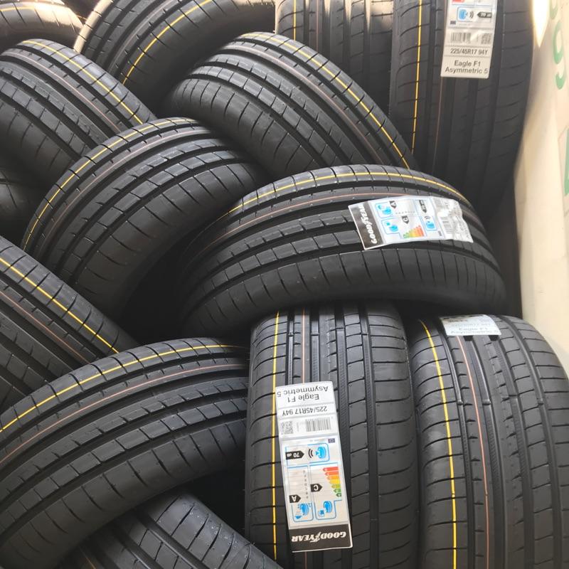 超便宜輪胎固特異/F1A5/ 225/40/18/特價/完工/免費調胎/F1A5/輪胎保固