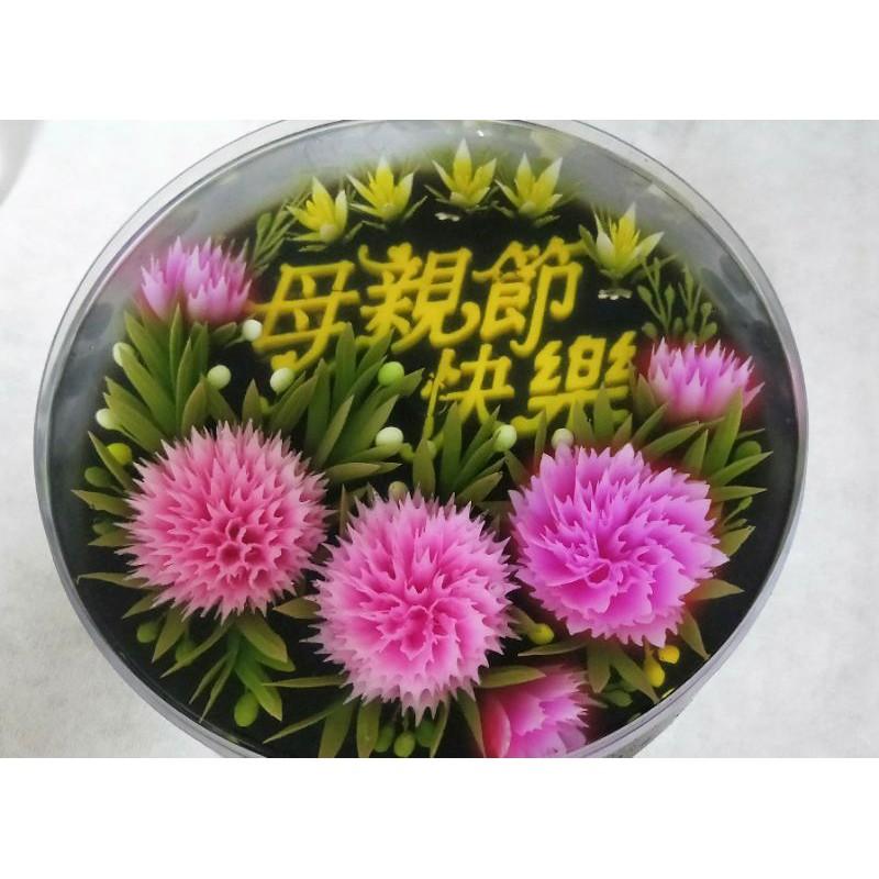果凍花(8吋)--低糖蒟蒻凍甜點
