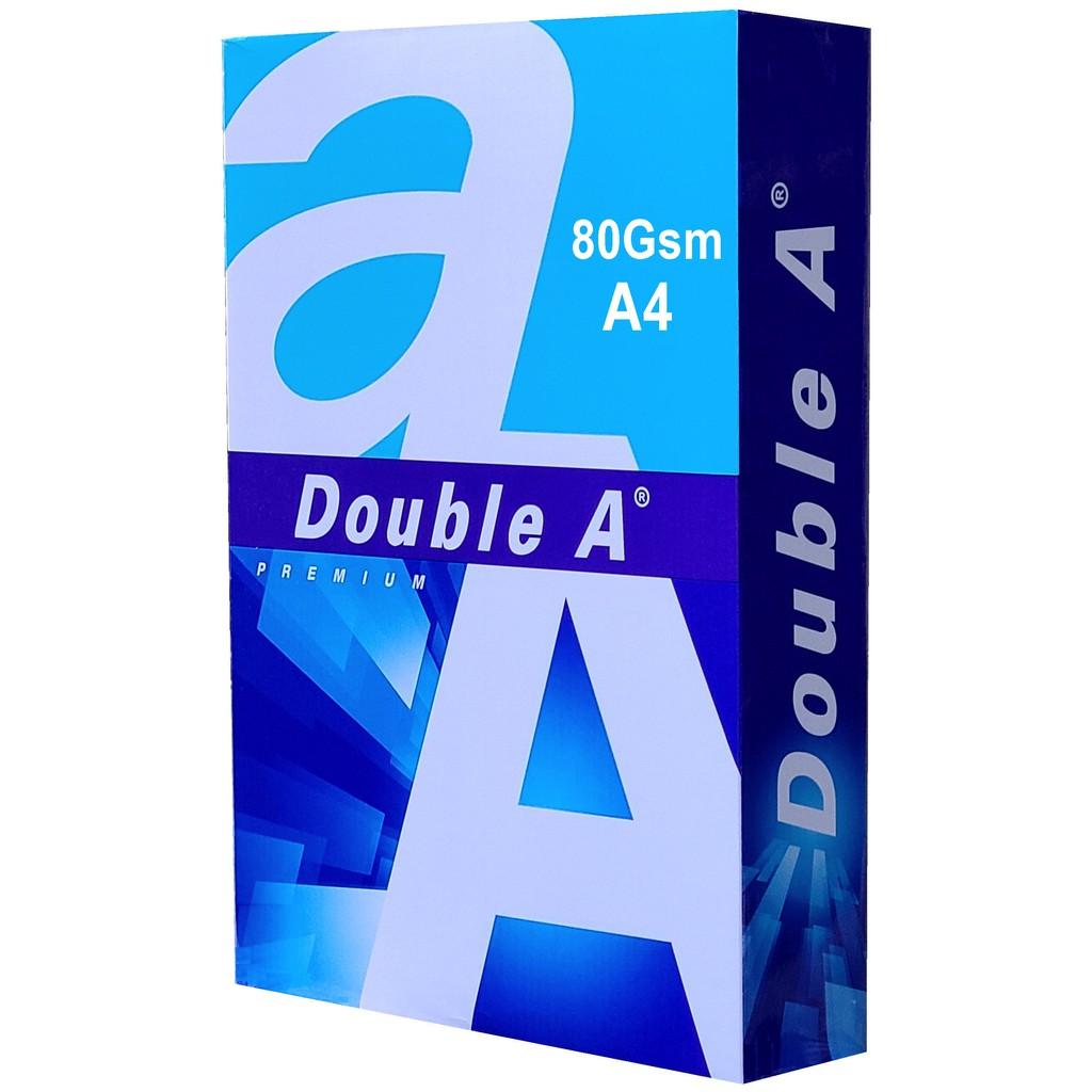 Double A 80磅 影印紙 (A4)(A3)(B4)(LS)(A5) FSC認證(5包/1箱)【超過1箱另加運費】