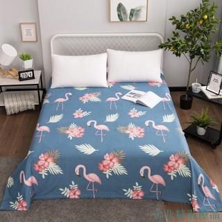 台北精裝優品床單單件水洗棉被單雙人1.5m被罩學生宿舍單人床1.2磨毛兒童褥單