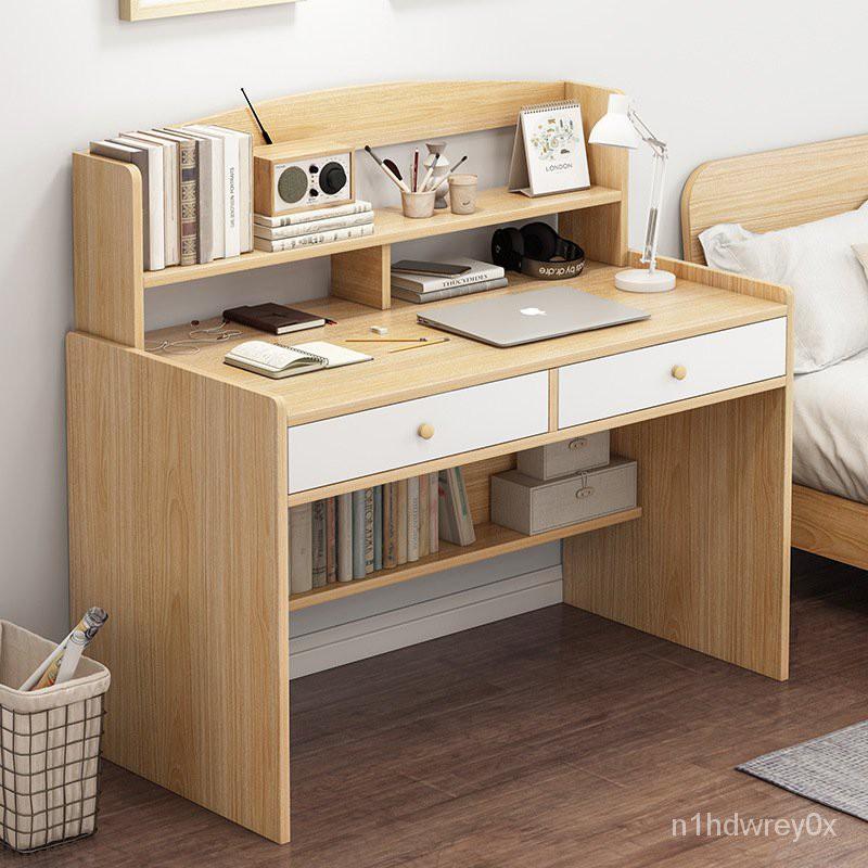 可可【電腦桌】北歐兒童書桌長50/60/70/80/100公分簡約寫字桌50cm寬小型學習桌