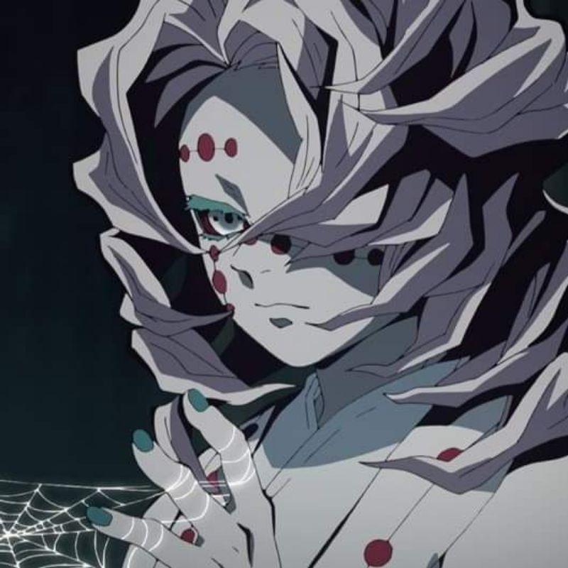 [三手售]鬼滅之刃 下弦之伍 累 cos cosplay 服裝 假髮