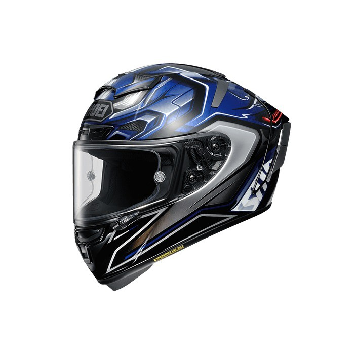 【SHOEI】 SHOEI X-14AERODYNE 全罩 選手帽 SNELL規格
