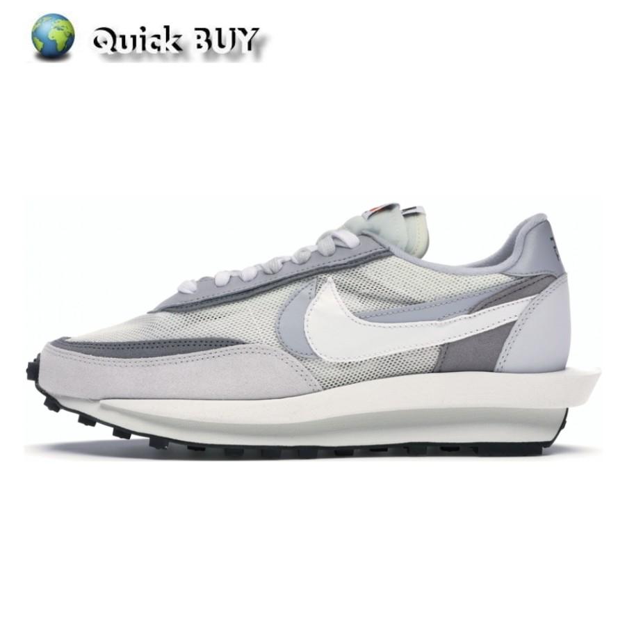 Sacai x Nike LDV Waffle 灰白 解構 聯名 休閒女鞋 男鞋 BV0073-100