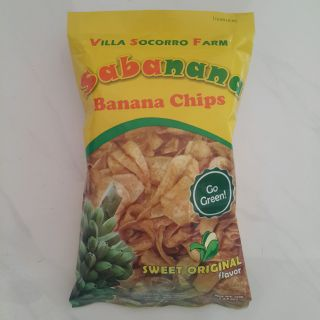 近效出清 SABANANA BANANA CHIPS 香蕉片 100g 菲律賓 香蕉乾 香蕉脆片 長灘島 薄片 現貨