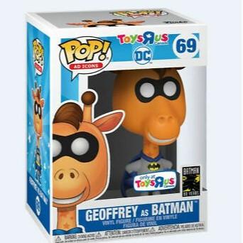 BEETLE FUNKO POP DC TOYSRUS 玩具反斗城吉祥物傑弗里飾蝙蝠俠 GEOFFREY BATMAN