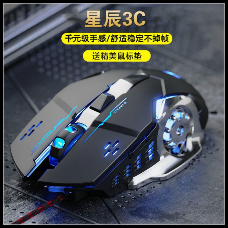 【現貨】熱賣款 電競滑鼠 競技滑鼠 有線電競滑鼠 DPI調整 呼吸燈光 USB滑鼠 人體工學設計 辦公 電腦周邊