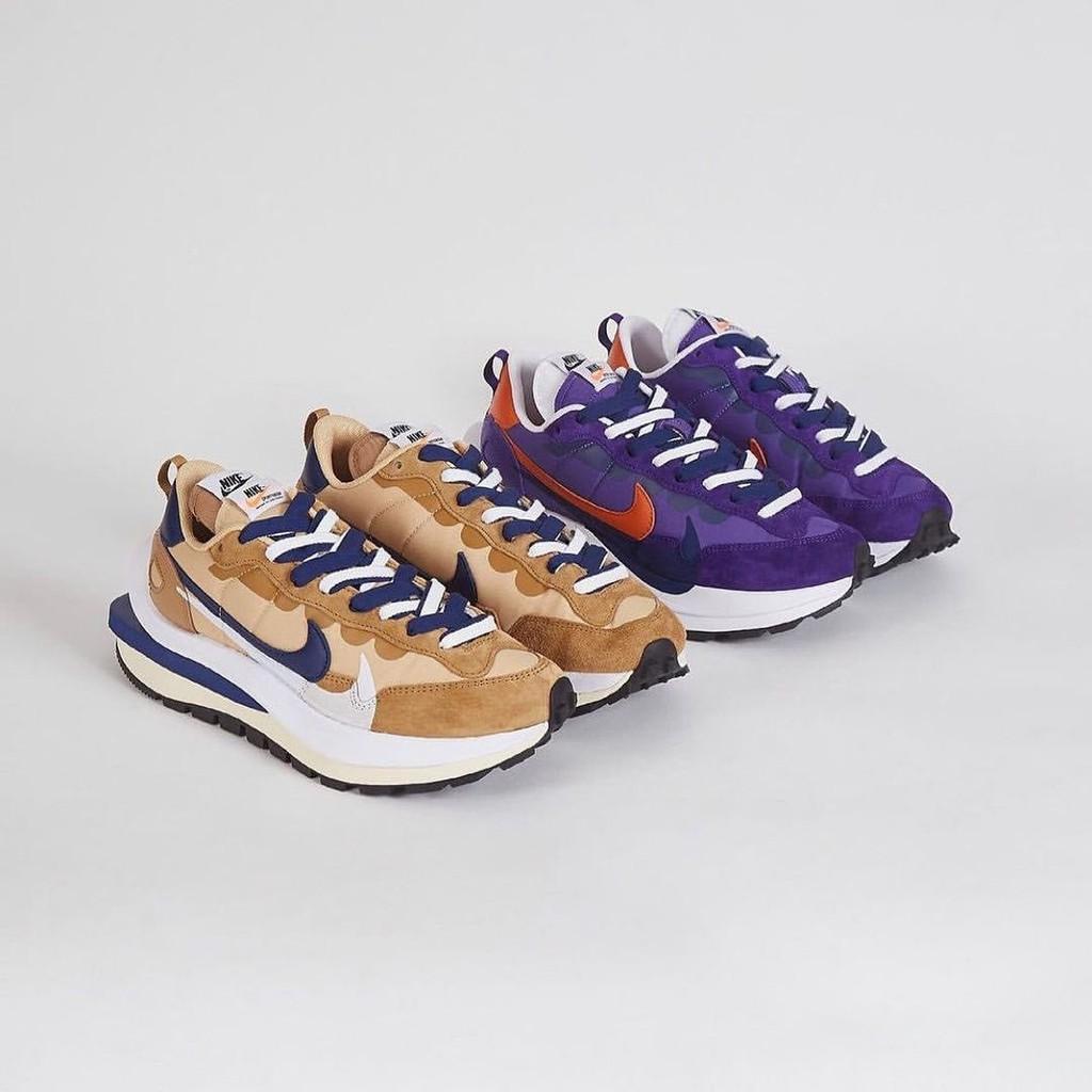 Sacai x Nike Vaporwaffle 藍紫 卡其 DD1875-200 DD1875-500 IMPACT