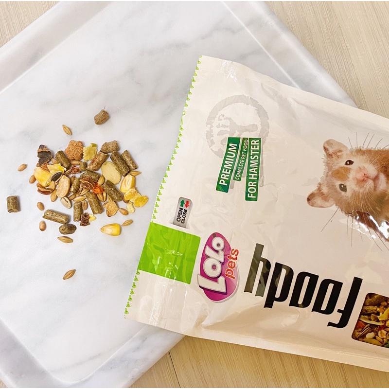 〔肚仔小食舖〕LoLo寵物鼠綜合主食 分裝 鼠飼料 倉鼠主食 迷你倉鼠|黃金鼠