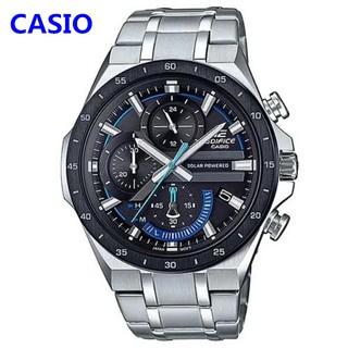 CASIO卡西歐手錶 運動太陽能腕錶 EDIFICE  男錶 三眼錶 賽車計時 跑秒 跑分 EQS-920系列