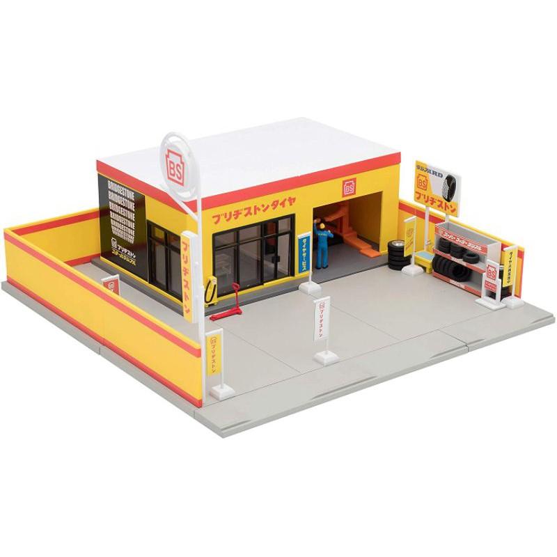 🎉現貨🎉tomytec 輪胎店1/64 tlv輪胎店