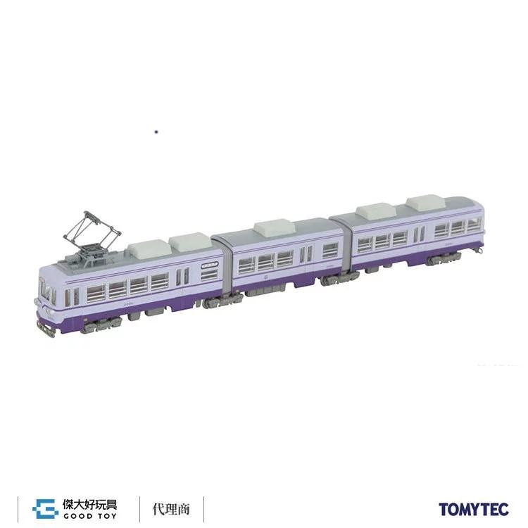 TOMYTEC 300960 鐵道系列 築豐電鐵 2000型 2001 號 (紫)