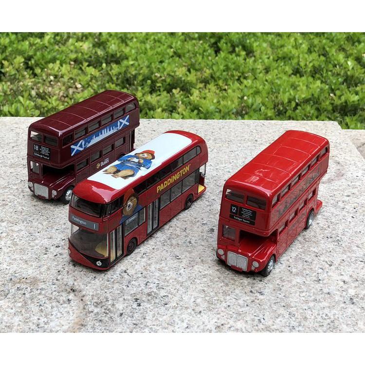 【台灣現貨】熱銷★狗仔1:43倫敦巴士公交車出租車迷你COOPER狗熊系列汽車模型