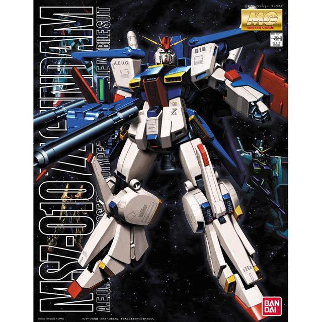 全新現貨 BANDAI MG 1/100 MSZ-010 ZZ鋼彈
