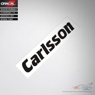 【耐達人】CARLSSON sticker decal 賓士凱森改裝車貼紙車貼花改裝貼紙 新北市