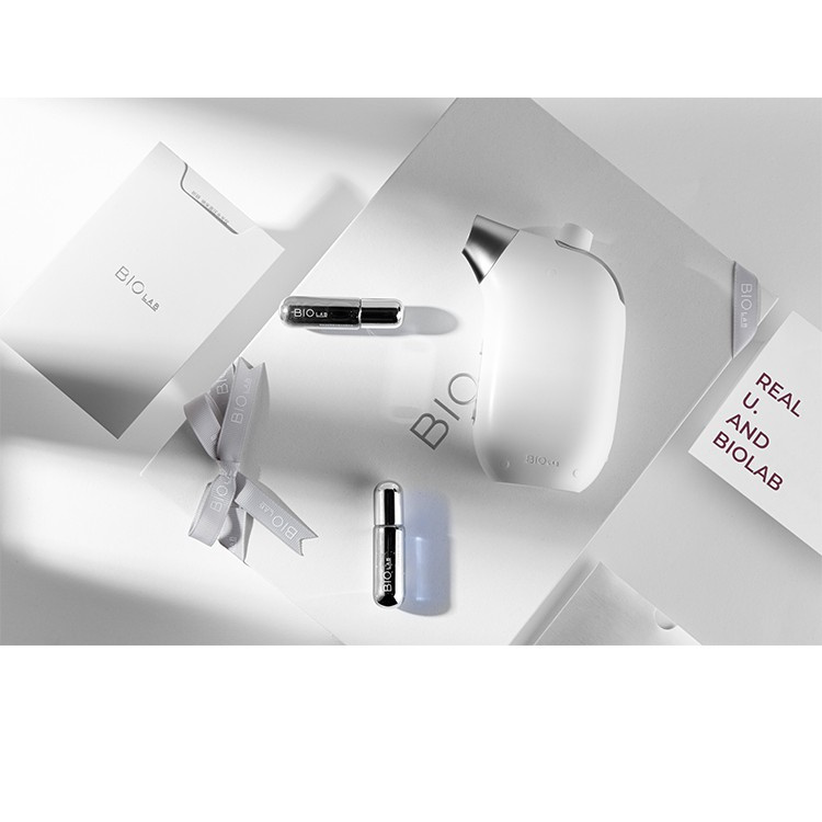 lovebaby  免運熱賣可分期BIOLAB聽研注氧儀家用手持納米噴霧美容院臉部高壓無針水光導入儀
