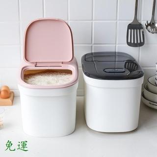 免運無印良品MUJI川島屋廚房裝米桶儲米箱米缸防蟲防潮密封米麵收納箱家用20斤米盒 新北市