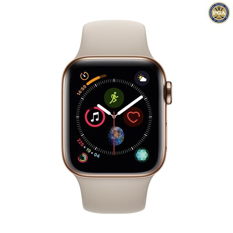 【準新機】Apple Watch Series4/5 二手蘋果手表 二手智能手表 未拆封 S5 不銹鋼版  金色 40M