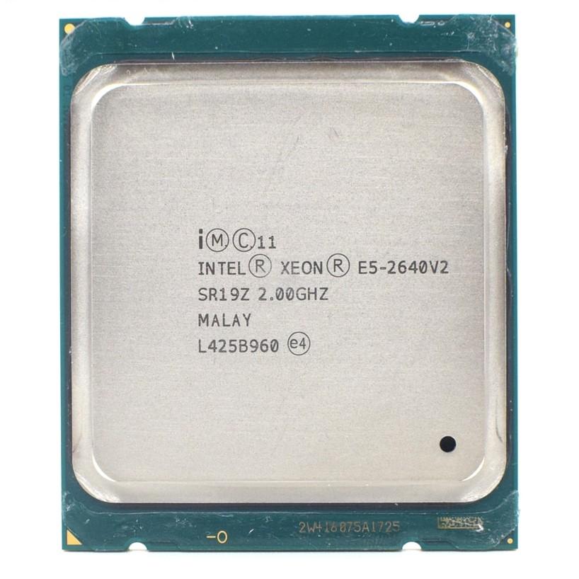 Intel Xeon E5 2640 V2 2.0GHz Eight-Core Sixteen-Thread