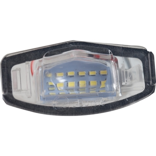 1 對汽車 LED 號牌車牌燈 汽車造型高光尾燈 適用於Honda Civic City Legend Accord