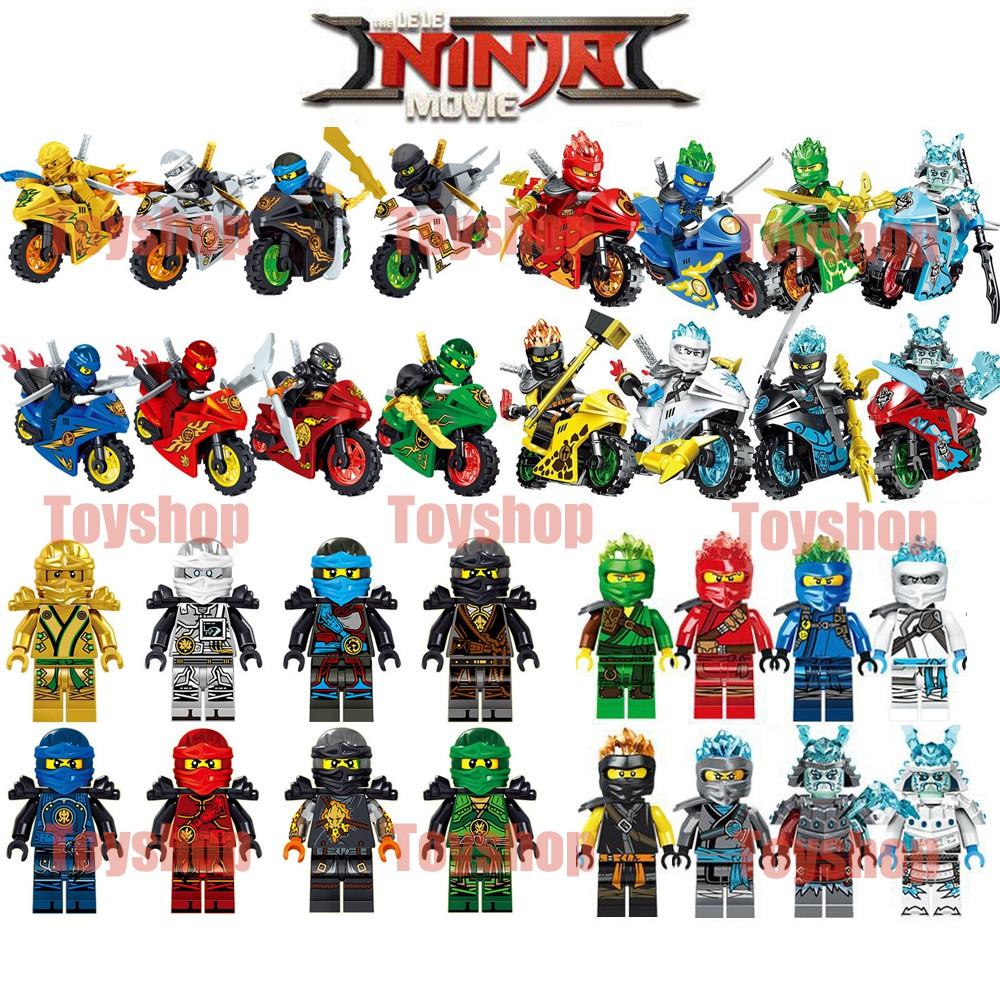 16款任選 忍者 積木人偶 相容 樂高 LEGO 積木公仔 31050 61015人仔
