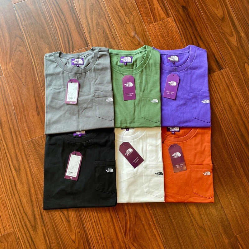 《Mino呦》The North Face紫標xMONKEY TIME 70Z口袋短袖T恤 北面