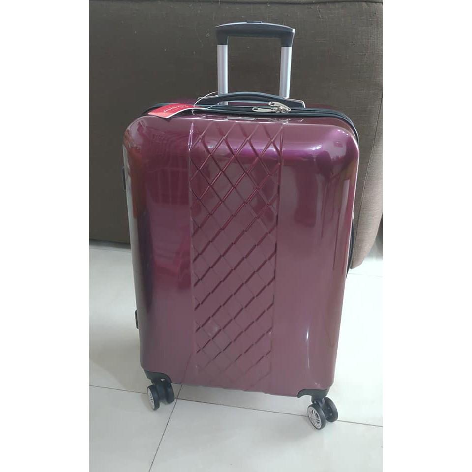America Tiger金屬紅金24吋行李箱