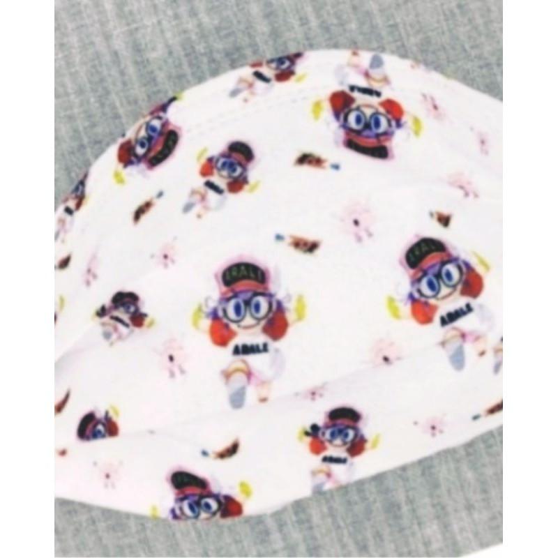🔥限量 熱賣🔥[ 阿拉蕾 口罩] 則卷阿拉蕾 (白色款)卡通口罩(非醫療用) 成人款