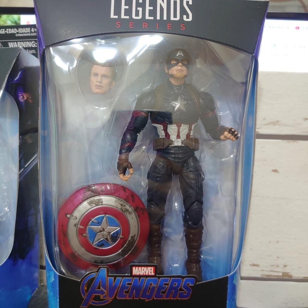 Marvel Legends 美國隊長 槌子美隊 終局之戰 雙頭雕 戰損盾牌+雷神槌