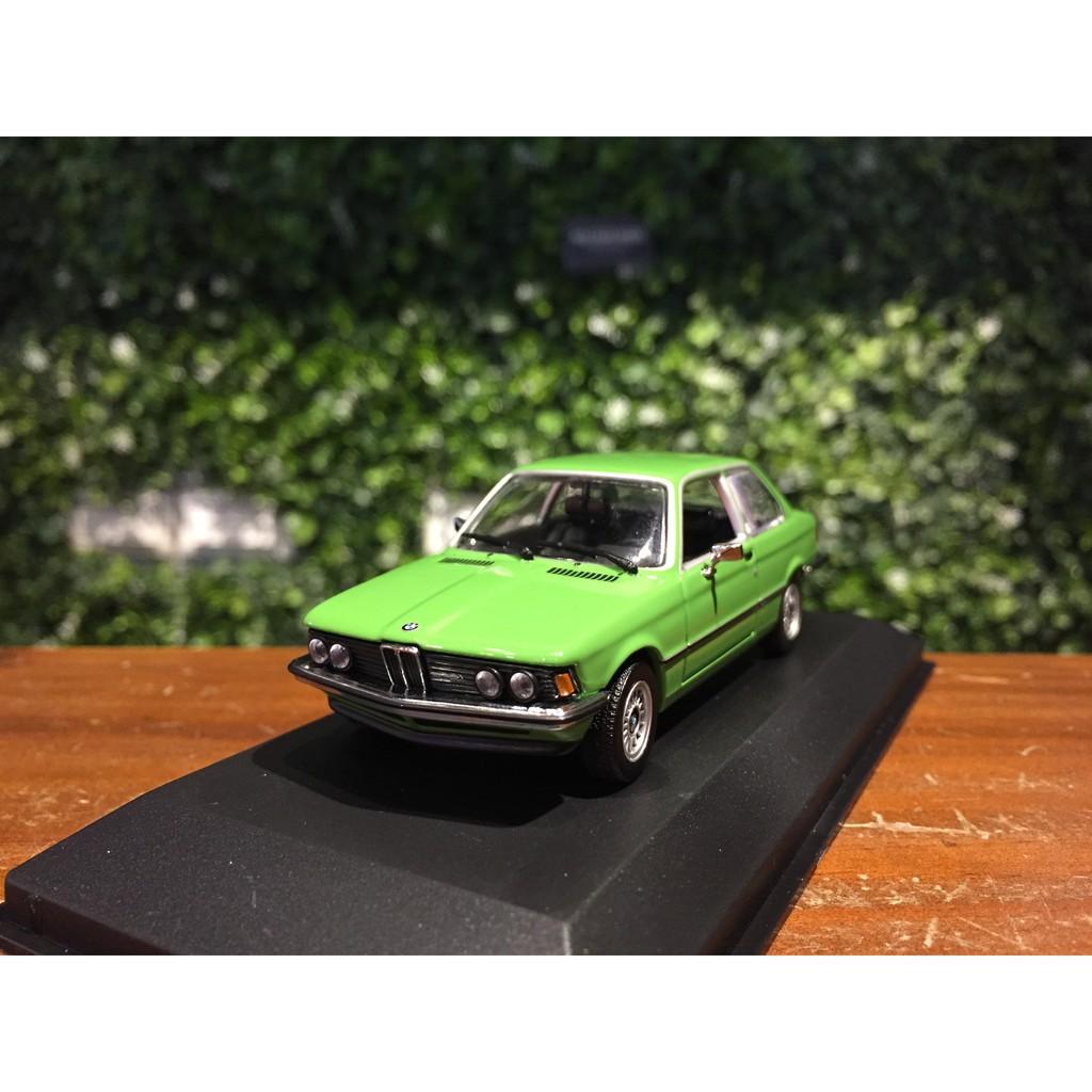 1/43 Minichamps BMW 323i (E21) 1975 Green 940025474【MGM】