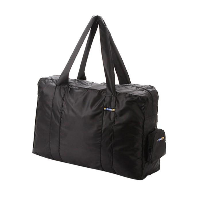 【Travel Blue 英國藍旅】折疊式手提袋(16L)-黑