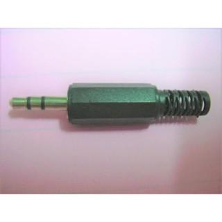 3.5公 3.5 立體音公頭 3.5mm公插頭 音源頭 自焊接頭 音源線接頭 耳機線接頭 塑膠殼 新北市